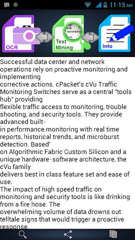 Screenshots for Smart OCRText Miner
