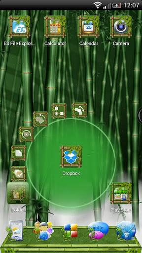 Next Launcher Bamboo Theme