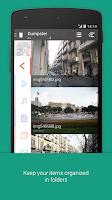 Screenshot of Dumpster Image & Video Restore