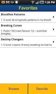 Spiritual Warfare PrayerPoints- screenshot thumbnail