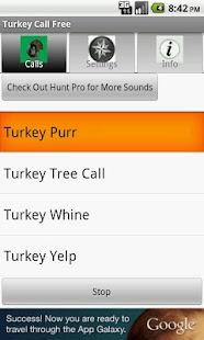 Turkey Call Free - screenshot thumbnail