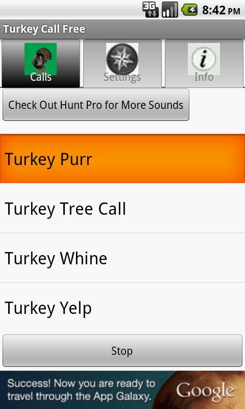 Turkey Call Free - screenshot