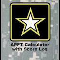 APFT Calc w/ Score Log ad-free logo
