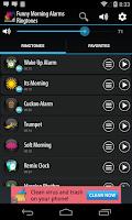 Screenshot of Funny Morning Alarm Ringtones