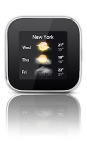Weather widget Smart Extras™ - screenshot thumbnail