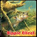 Bass Fishing Ripple Wallpaper icon