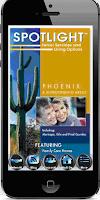 Screenshot of Spotlight Senior Services Phx