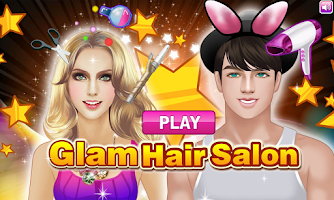 Screenshot of Glam Hair Salon