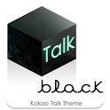 Kakao Talk Theme Black Baroque icon