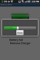 Screenshot of Battery Alert