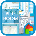 blue room dodol launcher theme icon
