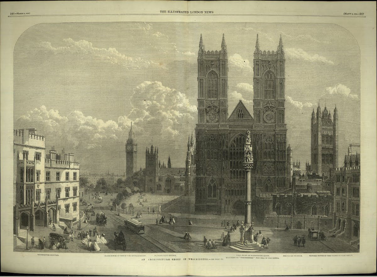 Top Euro (Bri-E) London Westminster Abbey Misc . Engravings