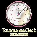 11月誕生石トルマリン【アナログ時計ウィジェット】