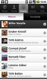 Hitemptation: see who's around- screenshot thumbnail