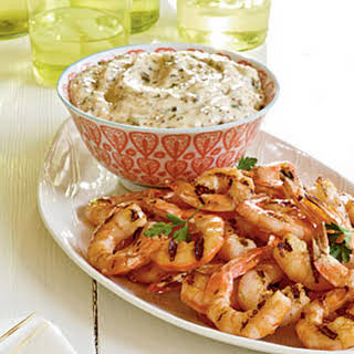 Grilled Shrimp with Rémoulade.