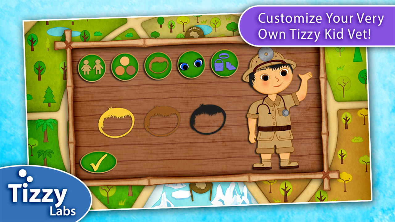 Tizzy Zoo Veterinarian – Screenshot