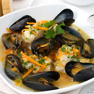 Slow Cooker Seafood Stew.