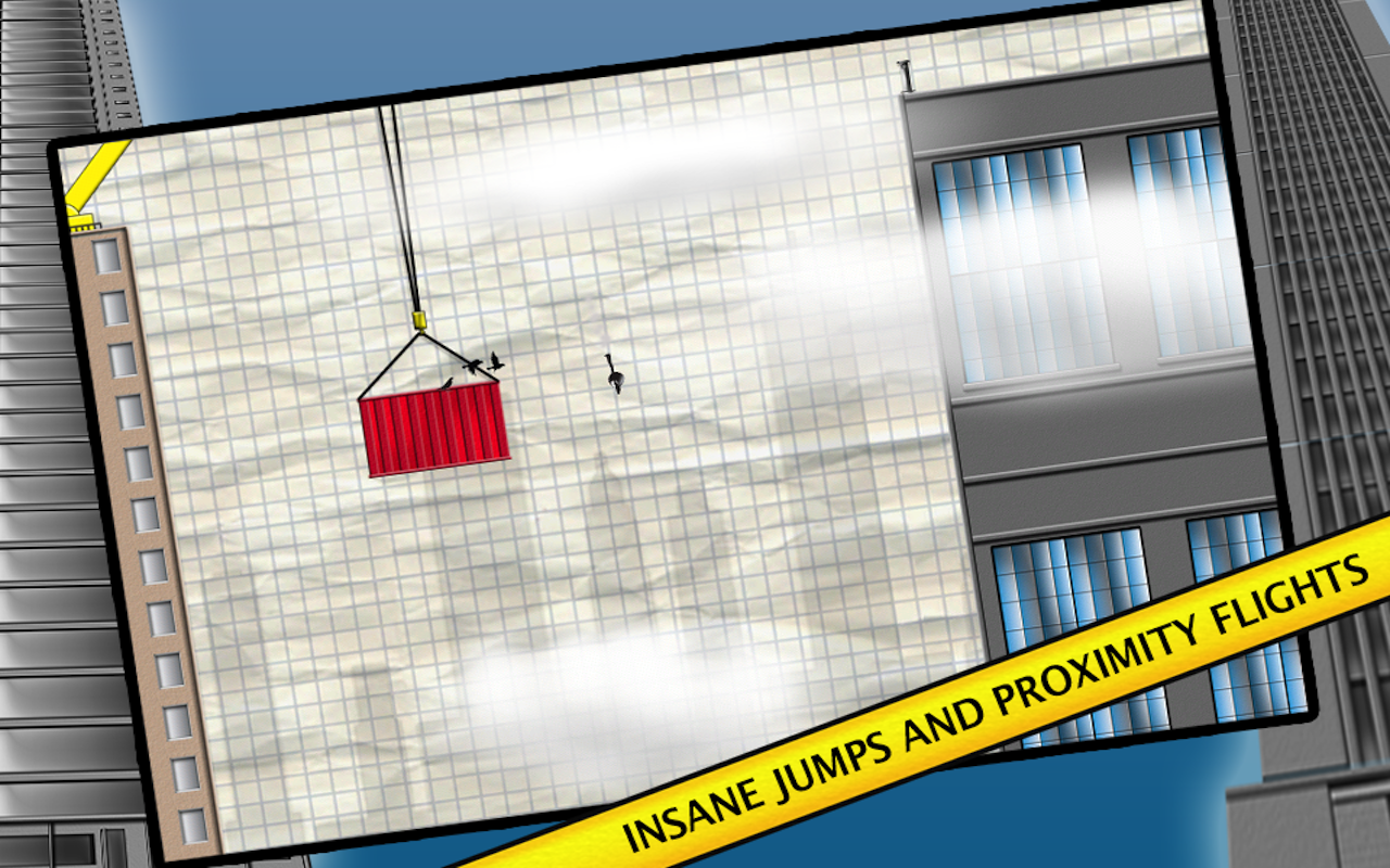 Stickman Base Jumper - screenshot