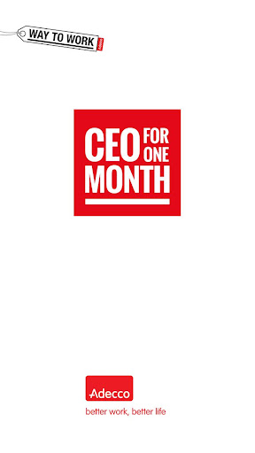 Adecco - CEO for One Month