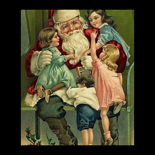 影像藝術復古聖誕