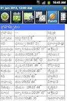Screenshot of Horoscope Telugu
