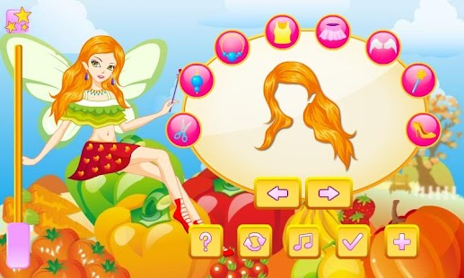 Harvest Fairy Dress Up - screenshot thumbnail