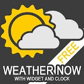 Weather Now FREE-Weather&Clock