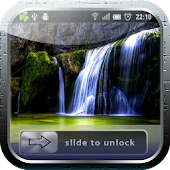 4D Waterfall Lock Screen