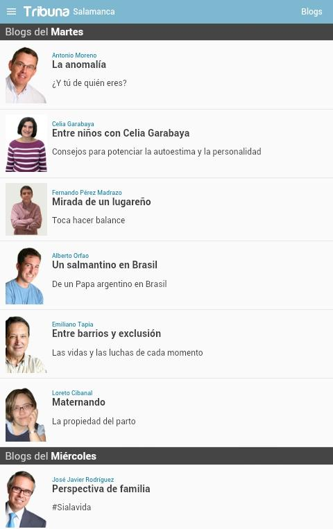 Tribuna Grupo- screenshot