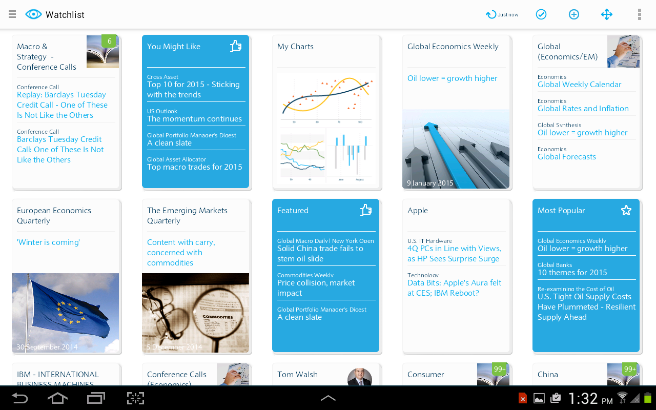 Barclays Live- screenshot