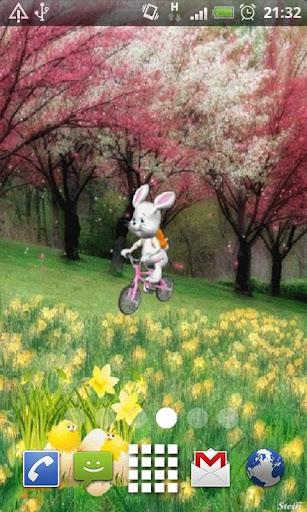 Happy Easter Bunny LWP