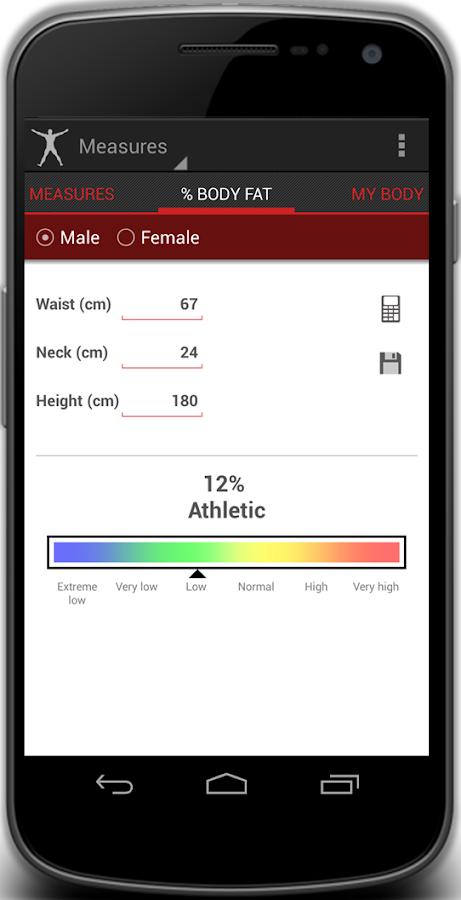 4F Diet Exercises & Fitness- screenshot