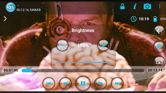 BSPlayer- screenshot