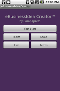 eBusinessIdea Creator- screenshot thumbnail