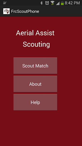 FRC Scouting Tool phone