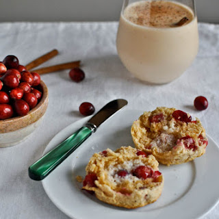 Cranberry Whole Wheat Buttermilk Biscuits.