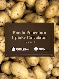 Potato Potassium Calculator- screenshot thumbnail