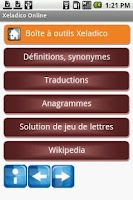 Screenshot of Mes dictionnaires free
