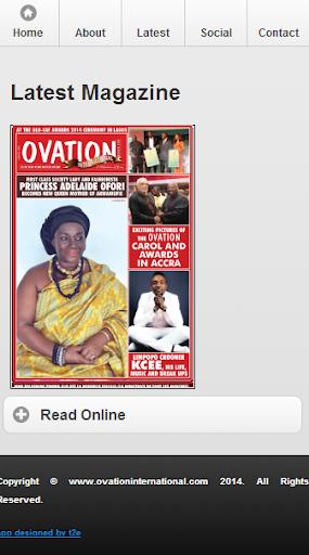 Ovation App