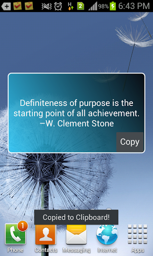 Wise Thoughts - Widget