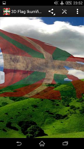 3D Flag Ikurriña LWP