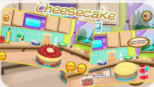 使奶酪蛋糕 - 烹飪遊戲
