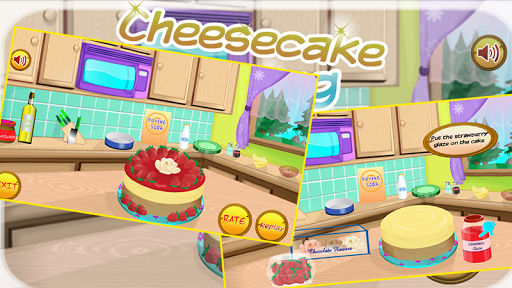 make cheesecake - cooking game
