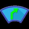 Head-Up Nav HUD Navigation icon
