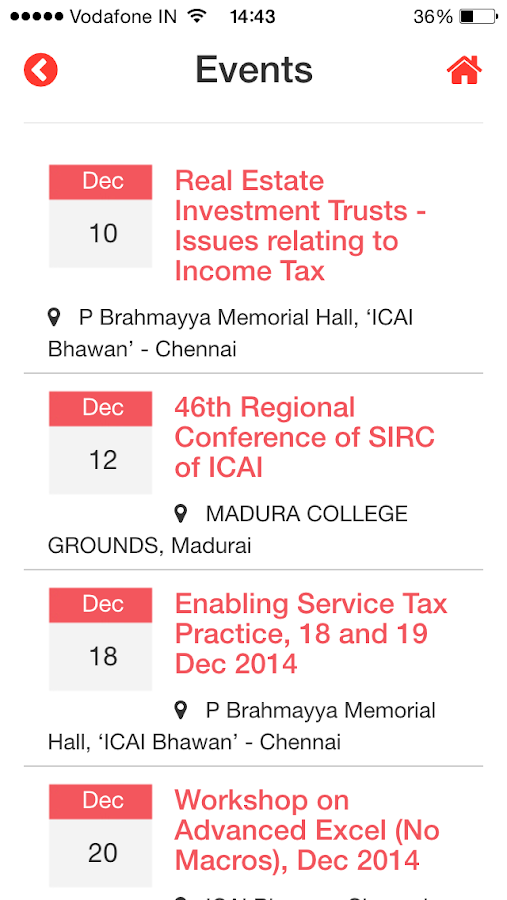 SIRC OF ICAI- screenshot