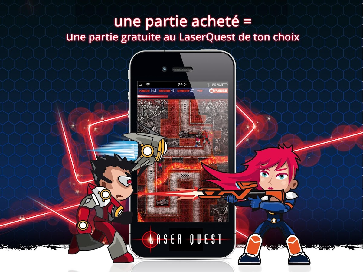 Laser Quest TD – Capture d'écran