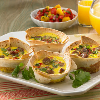 Breakfast Tortilla Cups