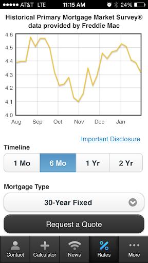 Janelle Carver's Mortgage App