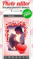 Screenshot of Love Photo Frames & Stickers
