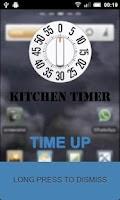 Screenshot of Kitchen Timer